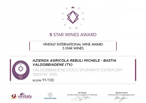 Extra Dry DOCG 5 Star Wines