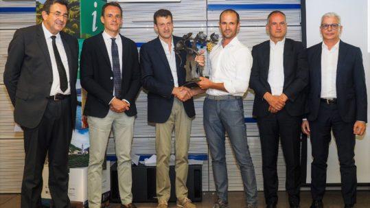 Consegna del premio Gran Fascetta D'oro 2019 al nostro Valdobbiadene DOCG Extra Dry