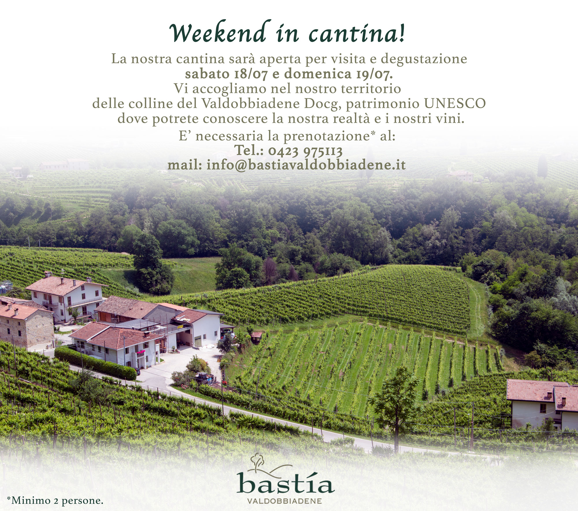 Weekend in cantina, Bastìa Valdobbiadene